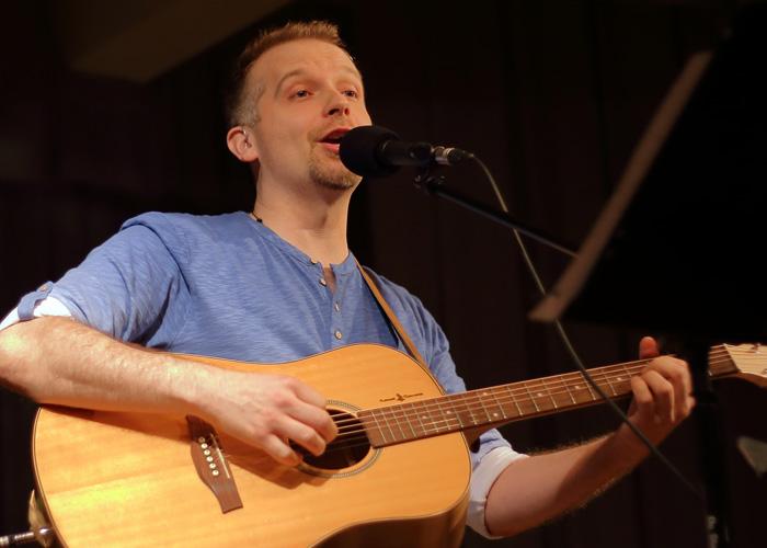 Pascal Gauthier à la sortie de son album